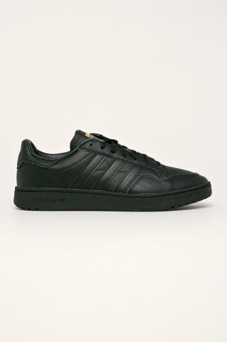 adidas Originals - Topánky Team Court pánské čierna 42