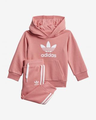 adidas Originals Trefoil Súprava detská Ružová dámské 104
