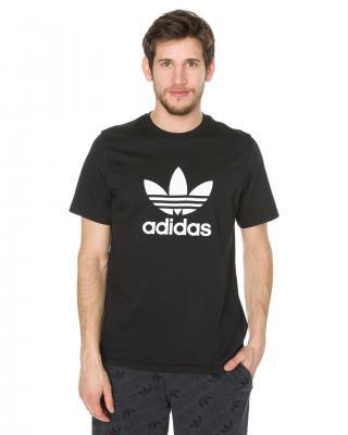 adidas Originals Trefoil Tričko Čierna pánské L