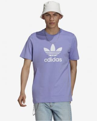 adidas Originals Trefoil Tričko Fialová pánské XXL