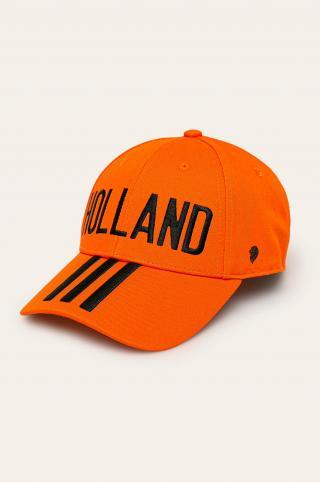 adidas Performance - Čiapka pánské oranžová ONE SIZE