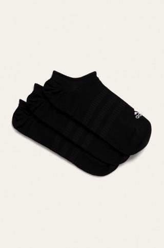 adidas Performance - Členkové ponožky  dámské čierna M