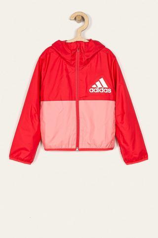 adidas Performance - Detská bunda 104-170 cm červená 128