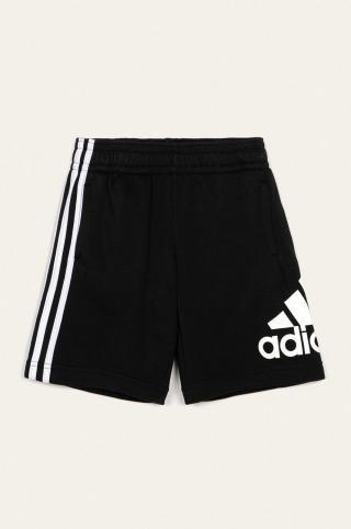 adidas Performance - Detské krátke nohavice 128-176 cm čierna 128