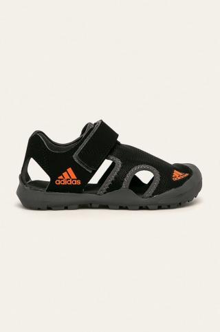 adidas Performance - Detské sandále Capitain Toey čierna 28