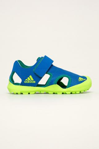 adidas Performance - Detské sandále Capitain Toey modrá 31