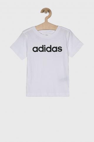adidas Performance - Detské tričko 110-176 cm biela 128