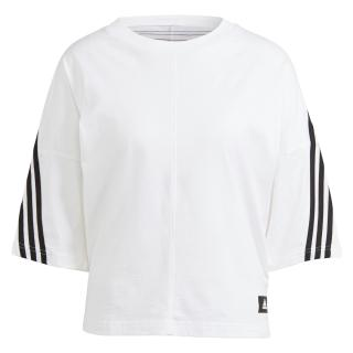 ADIDAS PERFORMANCE Funkčné tričko  biela / čierna dámské XS