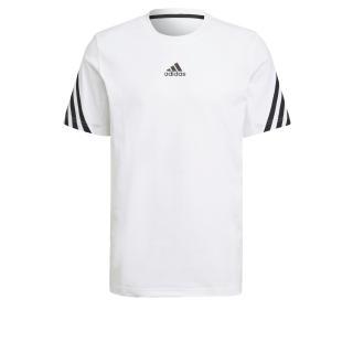 ADIDAS PERFORMANCE Funkčné tričko  biela / čierna pánské S