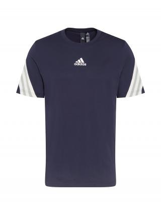 ADIDAS PERFORMANCE Funkčné tričko  tmavomodrá / biela / sivá pánské S