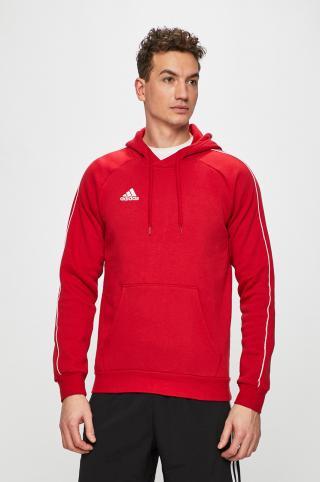 adidas Performance - Mikina pánské červená L