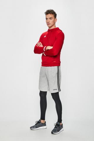 adidas Performance - Mikina pánské červená XS