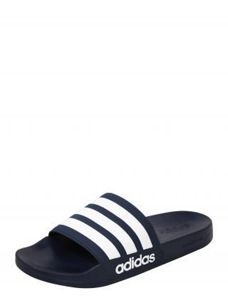 ADIDAS PERFORMANCE Plážové / kúpacie topánky Adilette  biela / tmavomodrá pánské 36,5-37