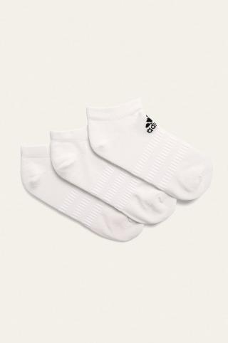adidas Performance - Ponožky  dámské biela M