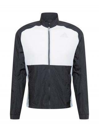 ADIDAS PERFORMANCE Prechodná bunda  čierna / biela pánské S