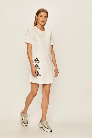 adidas Performance - Šaty dámské biela XS