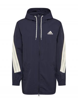 ADIDAS PERFORMANCE Športová bunda  tmavomodrá / biela pánské S