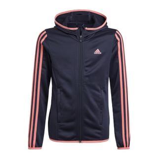ADIDAS PERFORMANCE Športová bunda  tmavomodrá / ružová dámské 104
