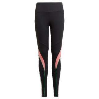 ADIDAS PERFORMANCE Športové nohavice  čierna / ružová / zelená dámské 170