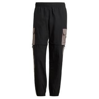 ADIDAS PERFORMANCE Športové nohavice  čierna / sivobéžová S