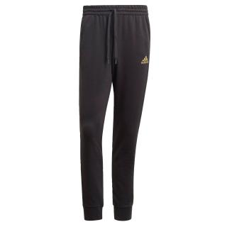ADIDAS PERFORMANCE Športové nohavice Essentials  čierna / zlatá / olivová pánské M