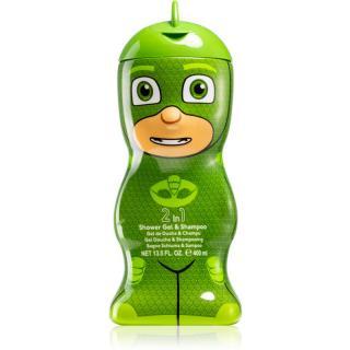 Air Val PJ Masks Gekko jemný sprchový gél a šampón pre deti 400 ml 400 ml