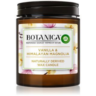 Air Wick Botanica Vanilla & Himalayan Magnolia dekoratívna sviečka 205 g 205 g