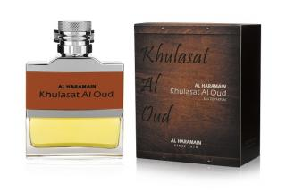 Al Haramain Khulasat Al Oud - EDP 1 ml - odstřik pánské