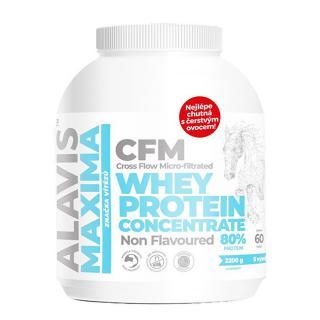 Alavis Alavis Maxima Whey Protein Concentrate 80% 2200 g -ZĽAVA - potrhaná etiketa