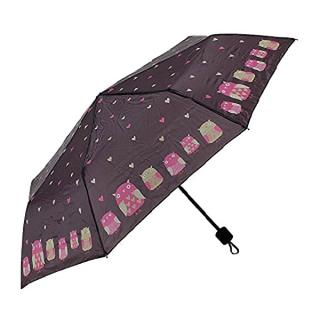 Albi Skladací dáždnik 74920 dámské hnedá