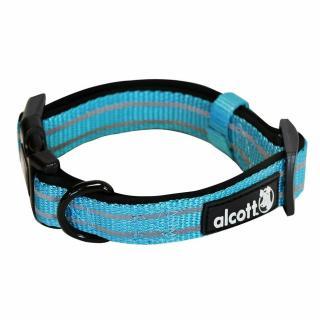 Alcott reflexní obojek pro psy, Adventure, modrý, velikost M