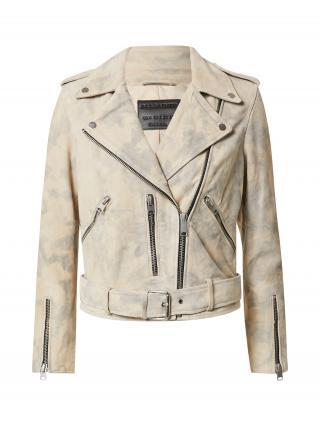 AllSaints Prechodná bunda Balfern  telová / svetlosivá dámské XS
