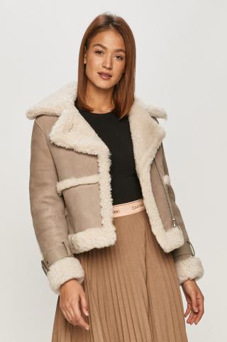 AllSaints - Semišová bunda dámské sivá M