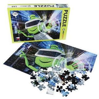 Alza Puzzle 160 dielikov – Mimozemšťan Alza vo VR