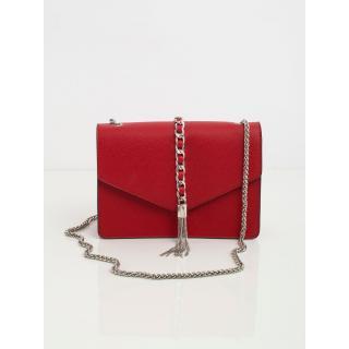 An elegant dark red messenger bag dámské Neurčeno One size