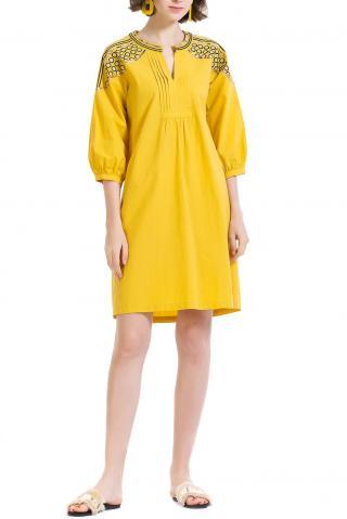 Anany žlté šaty Pilar - 40 dámské žltá 40