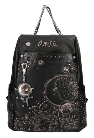 Anekke čierne ruksak Universe dámské čierna