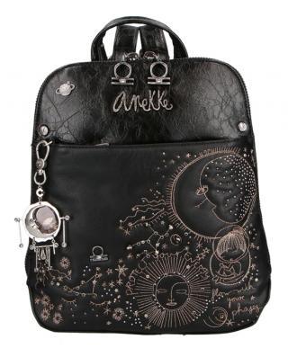 Anekke čierny ruksak Universe dámské čierna
