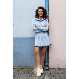 Angell Womans Skirt Mona Light dámské Blue M