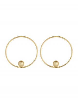 ANIA HAIE Náušnice Orbit  zlatá dámské One Size