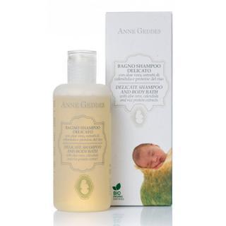 Anne Geddes Jemný detský vlasový a telový šampón 250 ml