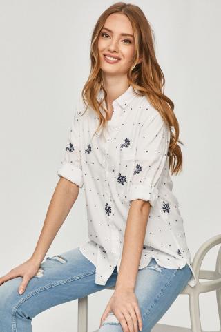 Answear Lab - Bavlnená košeľa dámské biela S
