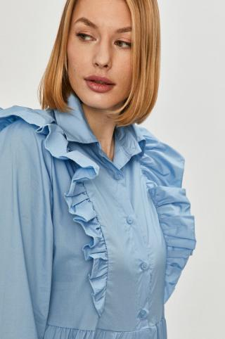 Answear Lab - Košeľa dámské modrá M