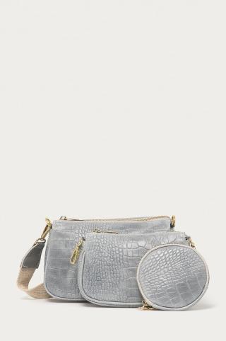 Answear Lab - Kožená kabelka  dámské modrá ONE SIZE