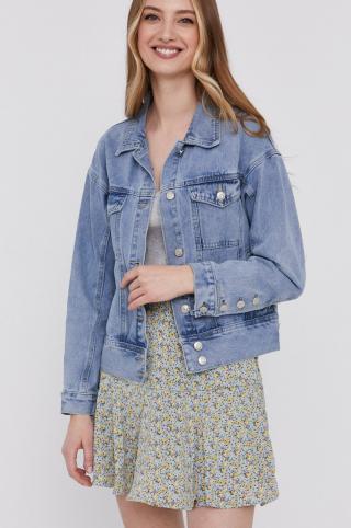 Answear Lab - Rifľová bunda dámské modrá M
