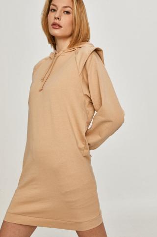 Answear Lab - Šaty dámské béžová M