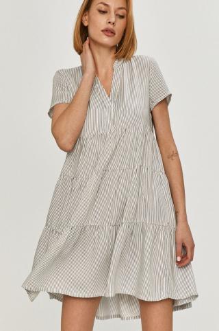 Answear Lab - Šaty dámské biela M
