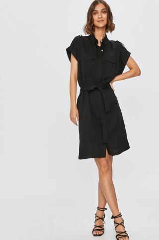 Answear Lab - Šaty dámské čierna M