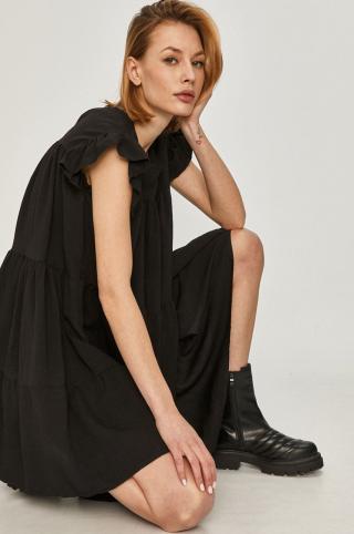Answear Lab - Šaty dámské čierna S