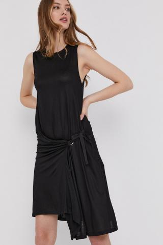 Answear Lab - Šaty dámské čierna XS